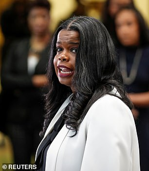 Pictured:Cook County State Attorney Kim Foxx