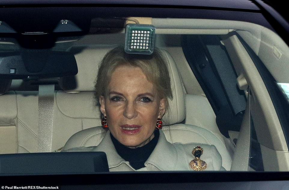 Princess Michael of Kent found herself under fire in 2017 after she wore a ¿blackamoor¿ brooch to the Queen¿s Christmas lunch at Buckingham Palace, attended by Meghan