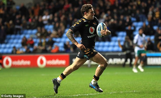Wasps winger Matteo Minozzi looks set to be one player who could excite come the restart