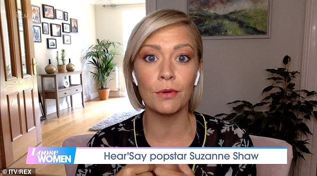 Tough: Suzanne admitted she struggles to be in the spotlight because those she thought were friends were selling stories about her