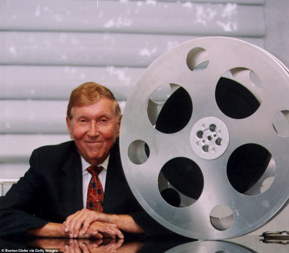 Sumner Redstone poses for a portrait, October 1997. He built Viacom into one of the world's three largest media companies