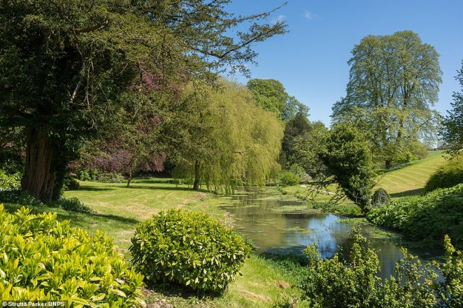 The gardens were designed by 18th century landscape gardener Humphry Repton. The breathtaking groundscover 28.4 acres