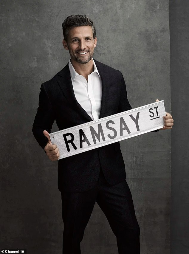 Saying goodbye to Ramsay Street: Former Bachelor Tim Robards (pictured) has announced he is leaving Neighbours, just two years after joining the show