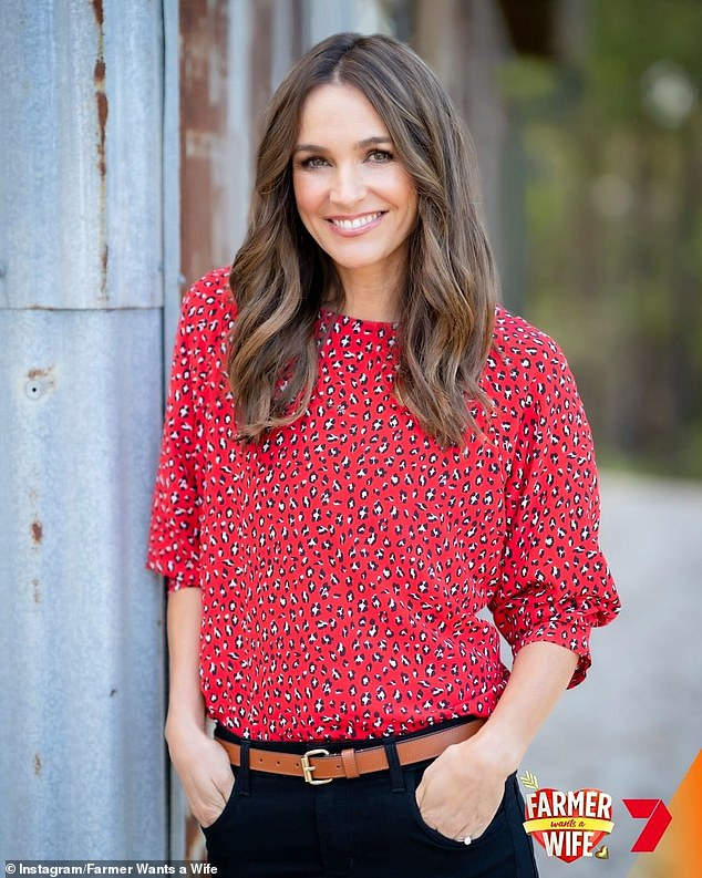 Ready for more love! Farmer Wants A Wife is returning for a new season on Channel Seven this year. Pictured: host Natalie Gruzlewski