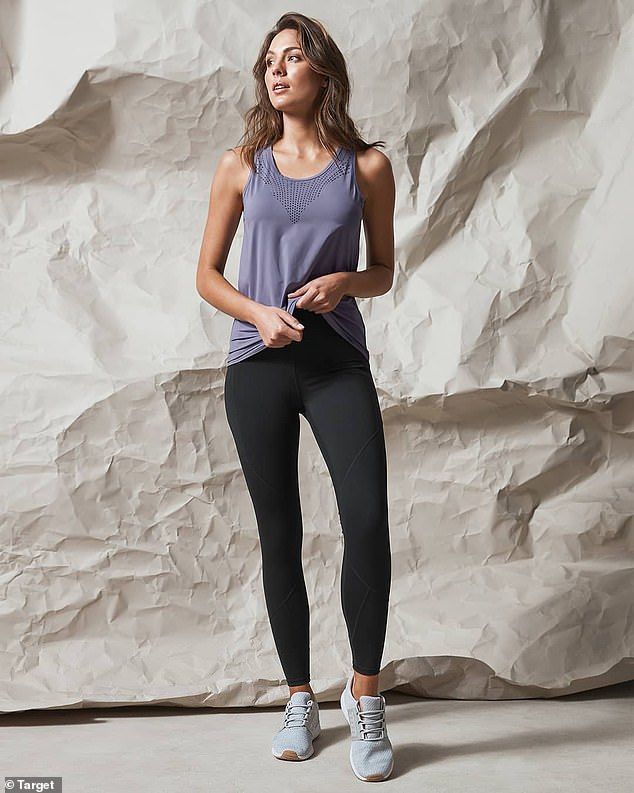 The Lycra Infinity tights have received hundreds of positive five-star reviews online and on social media from happy customers who say the pants feel 'amazing' and 'so comfortable' to wear
