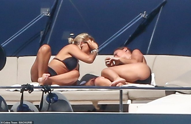 Mr Berlusconi, who is twice previously married broke off his 10-year-long relationship with Francesca Pascale, 35, in March - reportedly for €20 million - before seeing Ms Fascina, four years younger than Ms Pascale