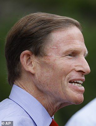 Senator Richard Blumenthal (D-Connecticut): 'My hope is that it will be embraced by the schools and the NCAA and others in power, and that they will be proactive and take voluntary action. But if not, Congress may need to act. And even if they do, Congress probably needs to act, because it will be the type of very fractionated decisions we're seeing with playing football'
