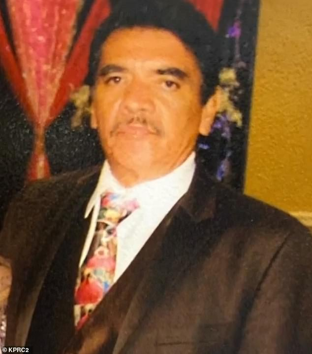 Natividad Torres Cordova (pictured) passed away in May following a battle with pancreatic cancer. His daughter hiredSantana Funeral Directors to help with his funeral and burial