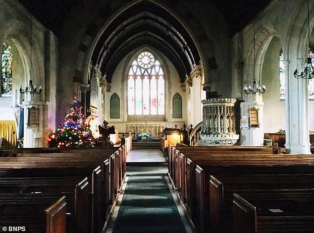 A fierce row over the removal of the traditional Victorian pews at St Andrew's church in Okeford Fitzpaine has come to an end as replacement work gets underway