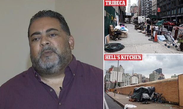 Man living in one of New York's homeless hotels agrees with outrage