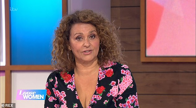 Outburst:It comes after Coleen's manager risked angering the Loose Women panellists after branding Nadia a 'total witch' on Thursday