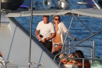 Dean Gaffney and ex Corrie star Danny Young party with bikini babes in Ibiza