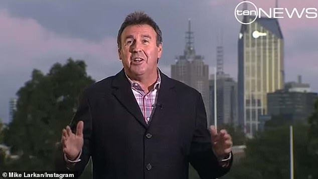 Oh no: The 56-year-old news anchor has admitted the news came as a shock - and arrived hours before he was due to do a live cross. He tells The Daily Telegraph: 'I was caught off guard. I'll be honest... I was totally surprised when I got the phone call. I just had no idea'