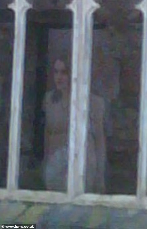 Ghosts? Some visitors have said they've seen a women in white on the grounds