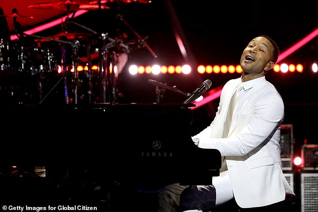John Legend, who has long been connected with Democratic politics, is slated to perform virtually at this year's DNC