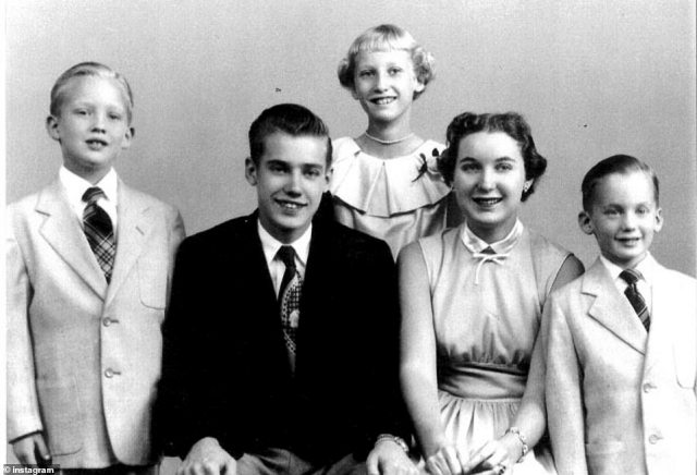 Meet the Trumps: Donald, Fred Jr, Elizabeth, Maryanne and Robert, pictured from left to right in an old family photo