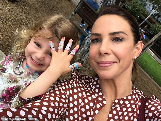 Kate Ritchie on birthday tradition shared with daughter Mae