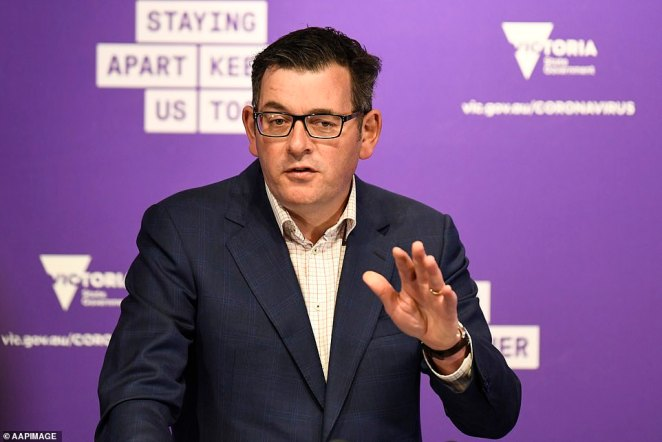 Victorian Premier Daniel Andrews told reporters on Saturday that there are now 3,383 cases in the state from an unknown source, with an increase of 264 overnight