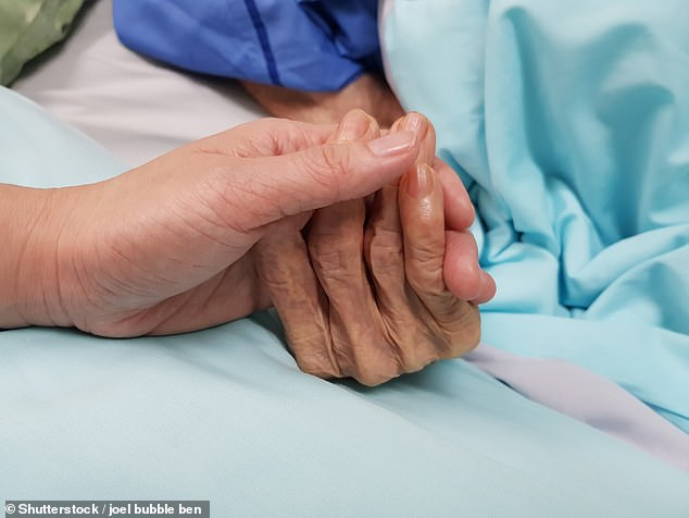 Aged care residents are living in squalid conditions at some coronavirus-hit care homes because nurses are too overstretched to look after them properly (file picture)