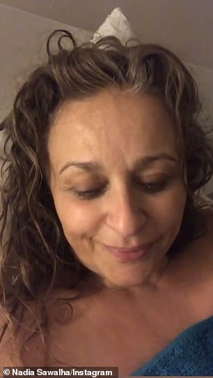 Breaking her silence: The Loose Women star, 55, took to social media on Friday evening to share an emotional video where she thanked fans for their support