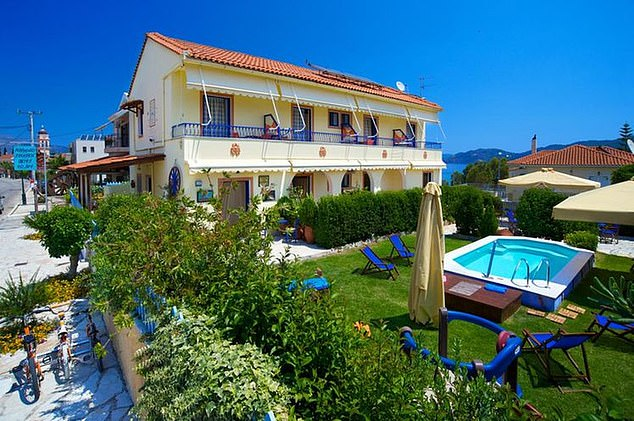 A trip for the same duration to the Kalypso Studios & Apartments in Kavos costs even less, standing at £295 per person