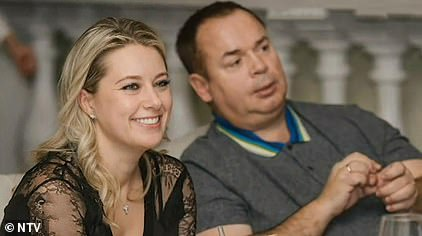 Anna Fedoseeva andbillionaire ex-bank boss Sergey Grishin