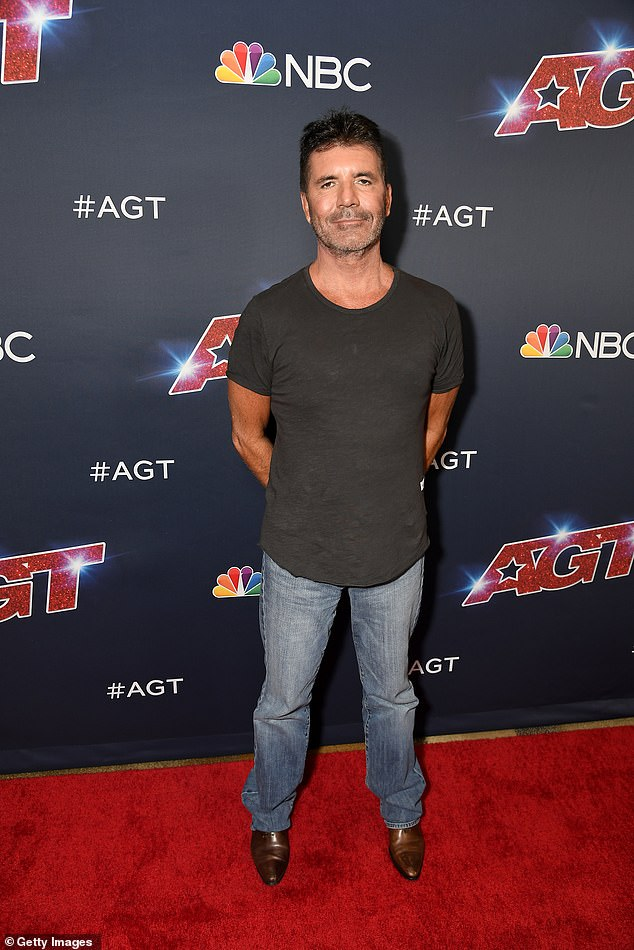 Treat yaself: Simon Cowell has been allowed to eat meat and dairy again after breaking his back