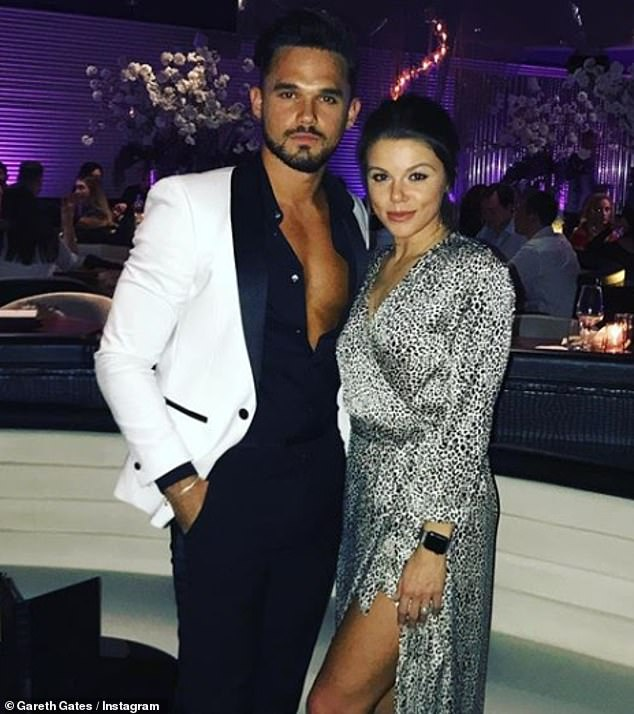 Moving on:Faye split from her singer fiancé Gareth Gates in August 2019 following a six-year relationship