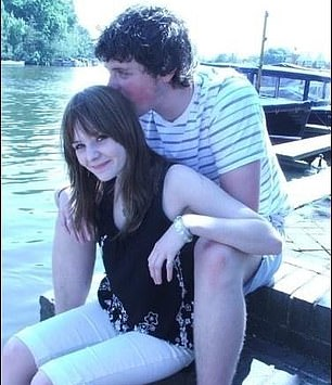 The young lovers show how close they are on a trip to the Thames in Henley, aged 17