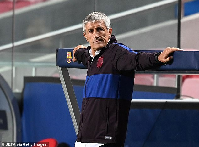 He is also isolated after Quique Setien's side failed to win LaLiga or the Champions League