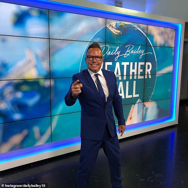 End of an era:Tim, along with at least 24 other stars, including Studio 10's Kerri-Anne and journalist Natarsha Belling, were sacked in a brutal afternoon of budget cuts last month