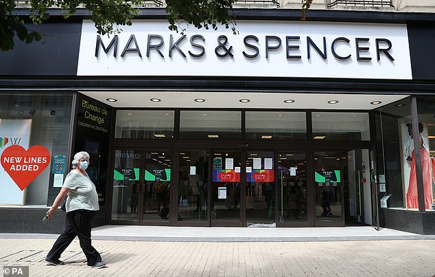The news comes after Marks & Spencer announced it would axe 7,000 jobs as part of a further shake-up of its stores and management in the face of the coronavirus crisis