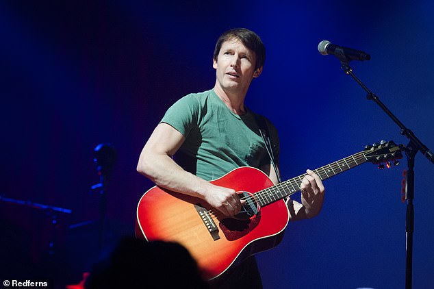 Maybe not the best idea!The singer, 46, said the decision was born out of 'principle' because he was surrounded by vegetarians and vegans during his university days (pictured performing in Paris in February 2020)