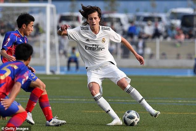 Jurado joins left-back Alvaro Fernandez at Old Trafford, who is set to leave Real Madrid