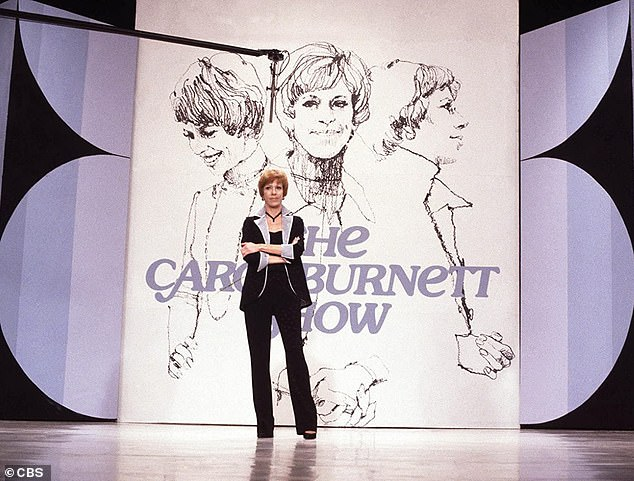 Classic: Fans can also stream all 11 seasons of Carol Burnett variety extravaganza The Carol Burnett Show from 1967 to 1978 on Shout!  Factory (photographed in 1967)