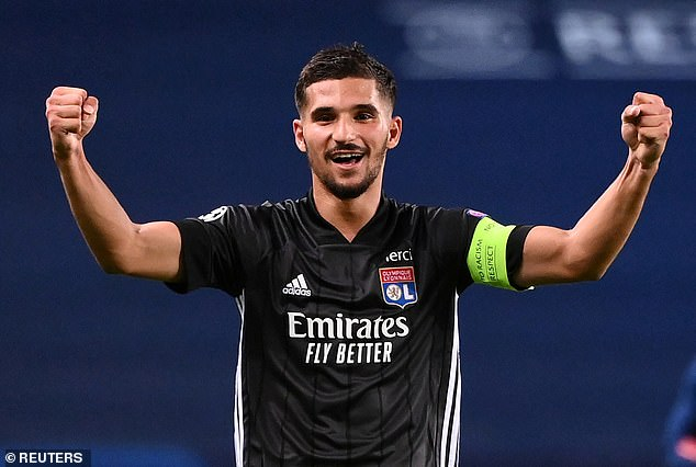 Arsenal have reportedly made a player-plus-cash offer for Lyon midfielder Houssem Aouar