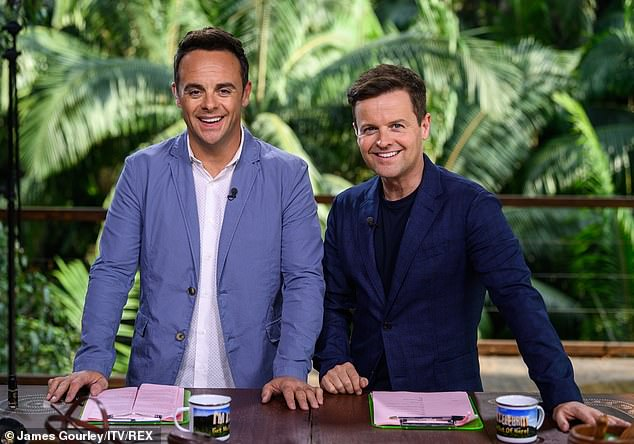 Reunited: Ant took a break from his TV duties in 2018 following his drink-drive arrest, but he and Dec reunited for I'm A Celebrity last year