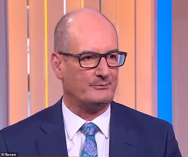 What did Kochie know?Melissa Doyle parted ways with Channel Seven on Friday, but it seems her former Sunrise co-host David 'Kochie' Koch (above) may have known her exit was coming