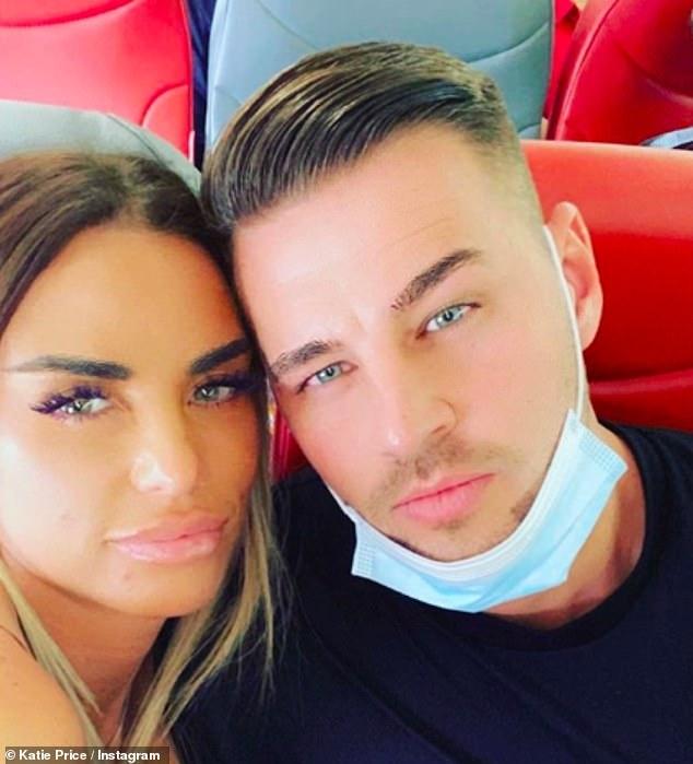 New man: Former glamor model is now dating Carl Woods, 31