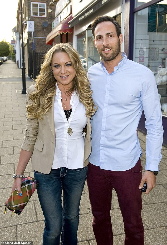 Shock divorce: Just days earlier, news surrounding her close pal and former co-star Rita's split from her husband of 14 years, Theo Silveston, emerged (pictured in 2013)