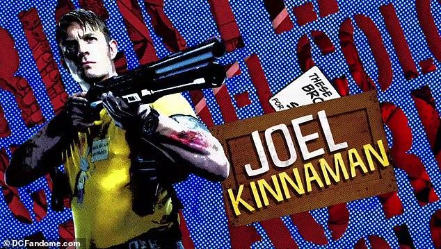 Taking aim: Joel Kinnaman is back as Rick Flag