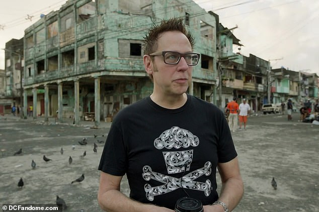 First look! Director James Gunn also sharedan action-packed behind-the-scenes video chalk-full of footage from his reboot and interviews with the cast