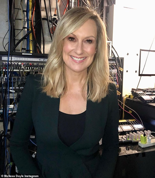 Veteran presenter:On Friday, Seven announced that Melissa had left the network after an incredible 25 years of service