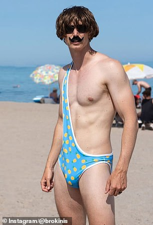 Weird Mens Bathing Suits : weird, bathing, suits, Toronto, Start, 'Brokini', Company, Funny, Swimsuits, Daily, Online