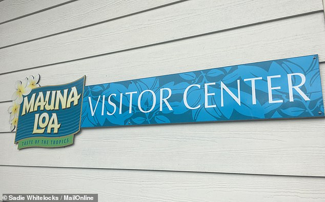Mauna Loamacadamia nut factory in Hawaii has avisitors centre and guests can take self-guided tours of the processing plant