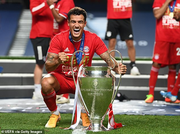 Philippe Coutinho will return to favor after winning Champions League with Bayern Munich