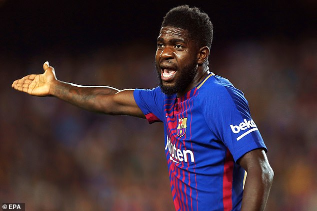 Samuel Umtiti is one of the other players who have been told he has no future at Barca