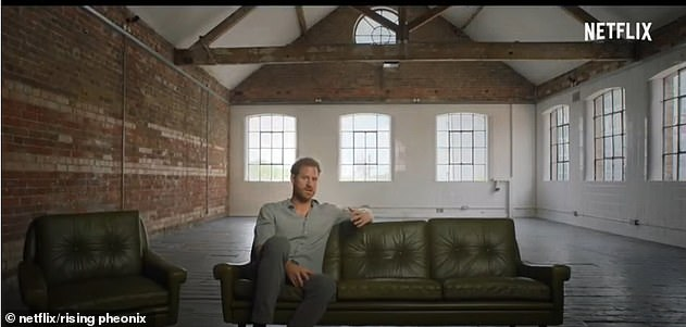 The Duke appeared relaxed in the documentary and spoke about the success of London's 2012 Paralympic Games