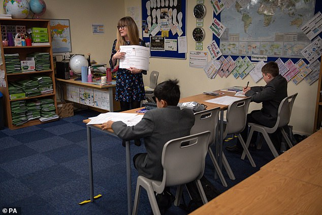 More than 200 members of the Association of School and College Leaders (ASCL) yesterday reported difficulties with the test and trace system (file image)
