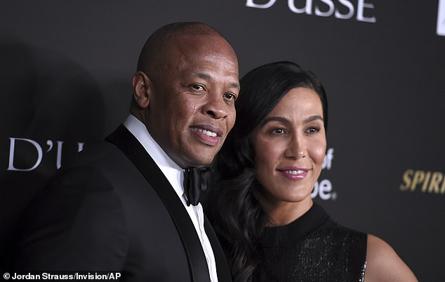 The former N.W.A. member and Young have been at odds over a prenuptial agreement, according to the outlet